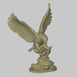 Download free 3D print files Eagle Statue, 3DWP