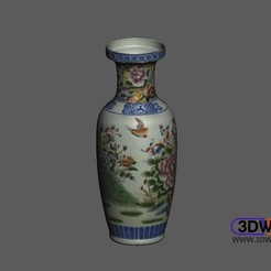 Download free 3D printing models Vase (With Color Model), 3DWP