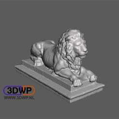 LionStatue.JPG Download free STL file Lion Statue (Sculpture 3D Scan) • 3D printer object, 3DWP