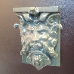Bearded_man.JPG Download free STL file Bearded Man Wall Hanger • 3D printer object, 3DWP
