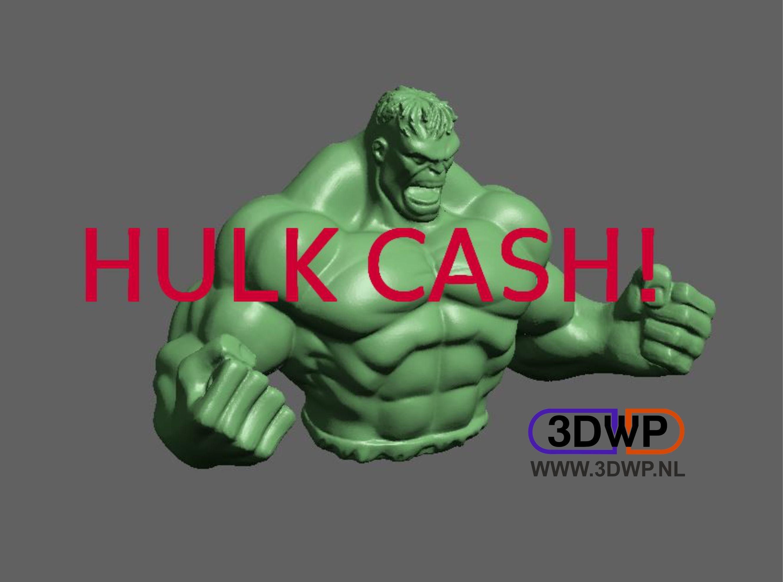 HulkPiggyBank.jpg Télécharger fichier STL gratuit Tirelire Hulk Piggy • Design pour impression 3D, 3DWP