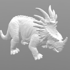 Download free STL file Styracosaurus • 3D printer object, 3DWP