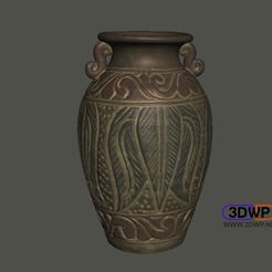 Download free 3D printer designs Urn (Vase 3D Scan), 3DWP
