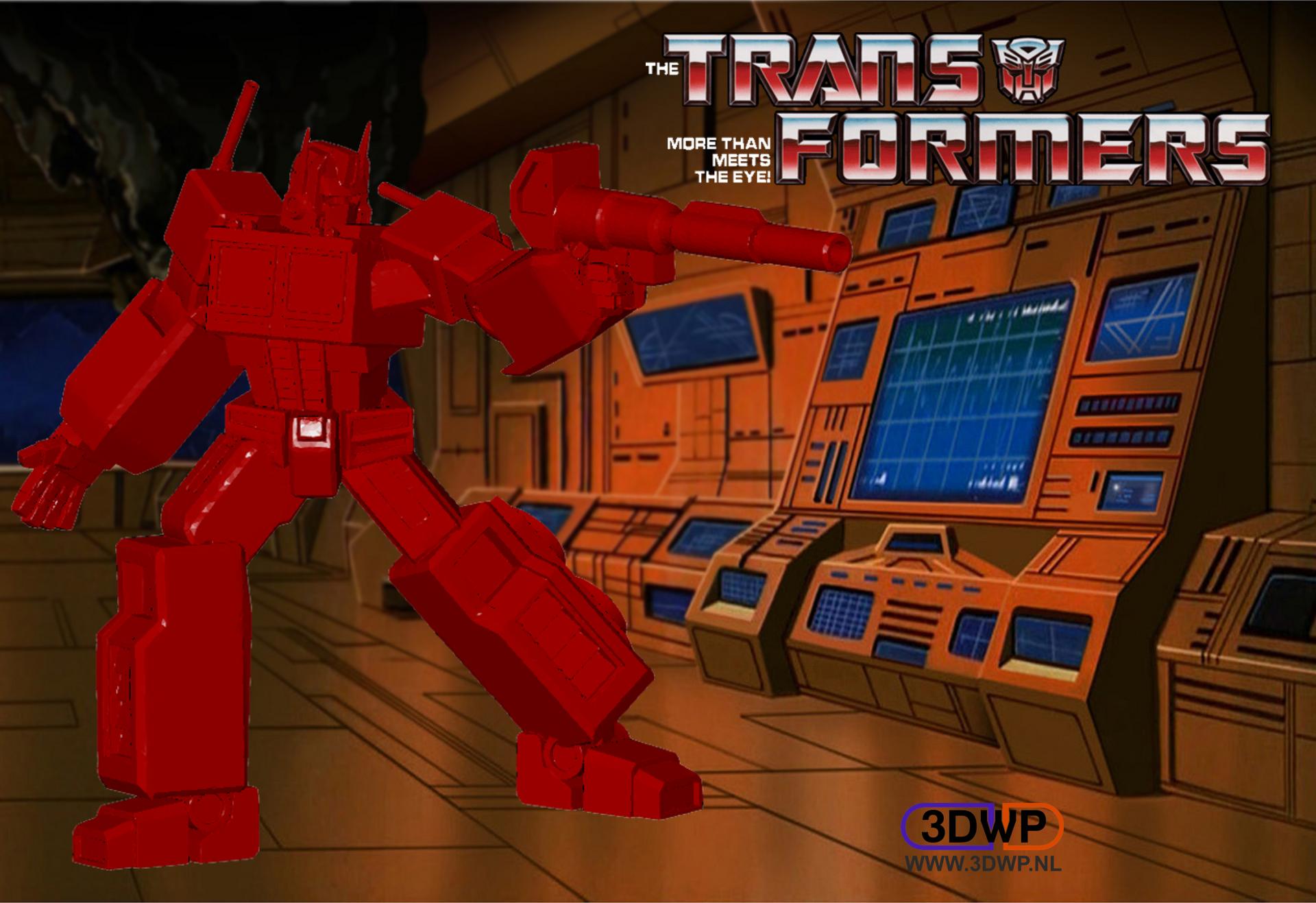 Transformers.png Télécharger fichier STL gratuit Optimus Prime (Transformateurs) • Objet à imprimer en 3D, 3DWP
