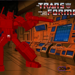Download free STL file Optimus Prime (Transformers), 3DWP
