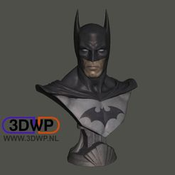 Download free 3D printer files Batman Bust (Statue 3D Scan), 3DWP