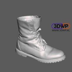 Download 3D printer model Timberland Shoe Scan, 3DWP