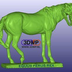 Horse_T-Rex.jpg Download free STL file Horse T-Rex (Equus Ferus Rex) • 3D print design, 3DWP