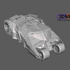 Tumbler.JPG Download STL file Batman Tumbler Car • 3D printable design, 3DWP