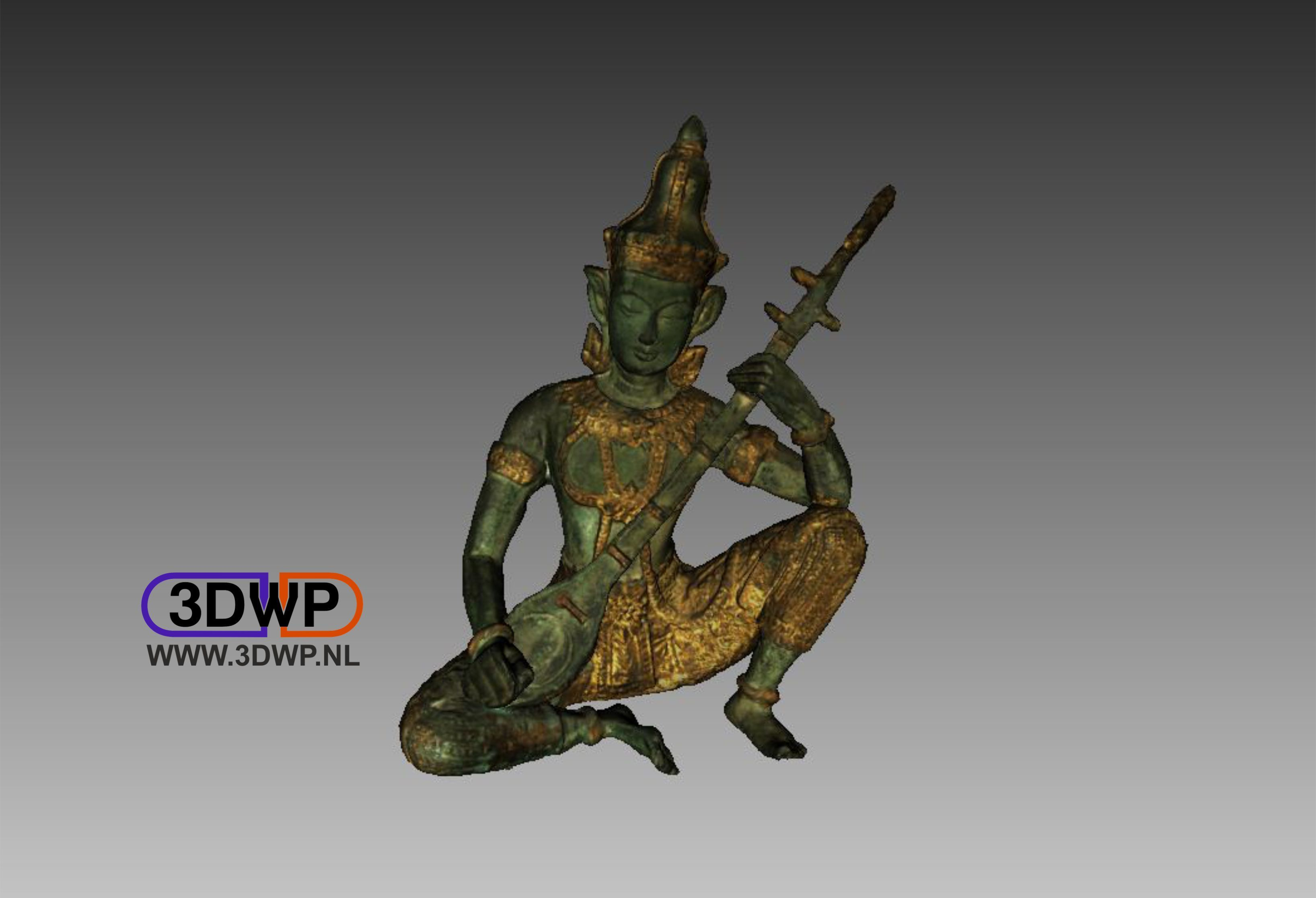 Indian1.jpg Télécharger fichier STL gratuit Sculpture de Dieu indien Scan 3D • Plan imprimable en 3D, 3DWP