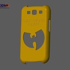Télécharger fichier imprimante 3D gratuit Wu-Tang Samsung Galaxy S3 Case, 3DWP