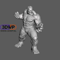 Download free 3D printing templates Hulk 3D Scan, 3DWP