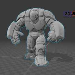 Download free 3D printing files Hulkbuster (Iron Man), 3DWP
