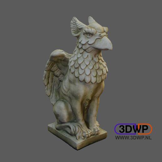 Télécharger modèle 3D Sculpture de griffon (Griffon 3D Scan), 3DWP