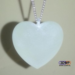 Download free 3D model Heart Pendant, 3DWP