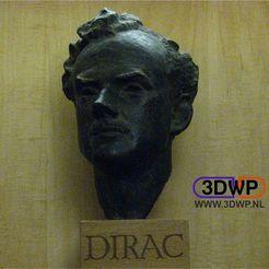 Download free 3D printer designs Paul Dirac Lihophane, 3DWP