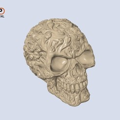 Download free 3D printer templates Souls Skull (Hollow), 3DWP