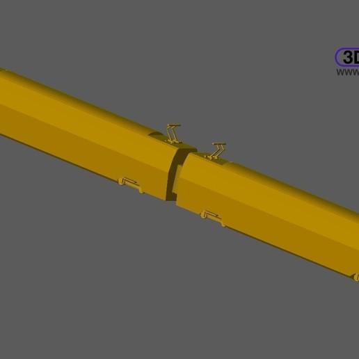 Télécharger fichier STL gratuit Train néerlandais (NS Trein) 1 à 500, 3DWP