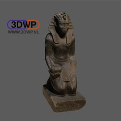 EgyptianSculpture1.JPG Download free STL file Egyptian Sculpture 3D Scan • Model to 3D print, 3DWP