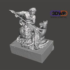 Neptune1.JPG Download free STL file Neptune Sculpture (Greek Statue 3D Scan) • 3D print object, 3DWP