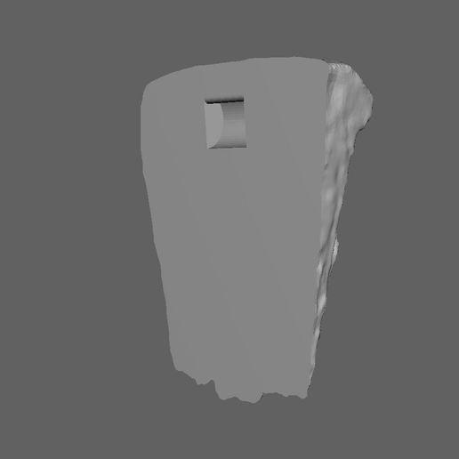 LionScan2.JPG Télécharger fichier STL gratuit Scan 3D de la sculpture du lion (suspension murale) • Modèle imprimable en 3D, 3DWP