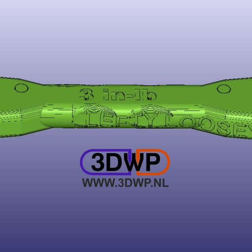 Download free 3D printing models NASA Ratchet Wrench - Tighten And Loosen, 3DWP