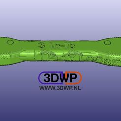 Double.jpg Download free STL file NASA Ratchet Wrench - Tighten And Loosen • 3D print model, 3DWP