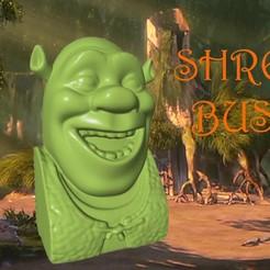 Download free STL files Shrek Bust, 3DWP