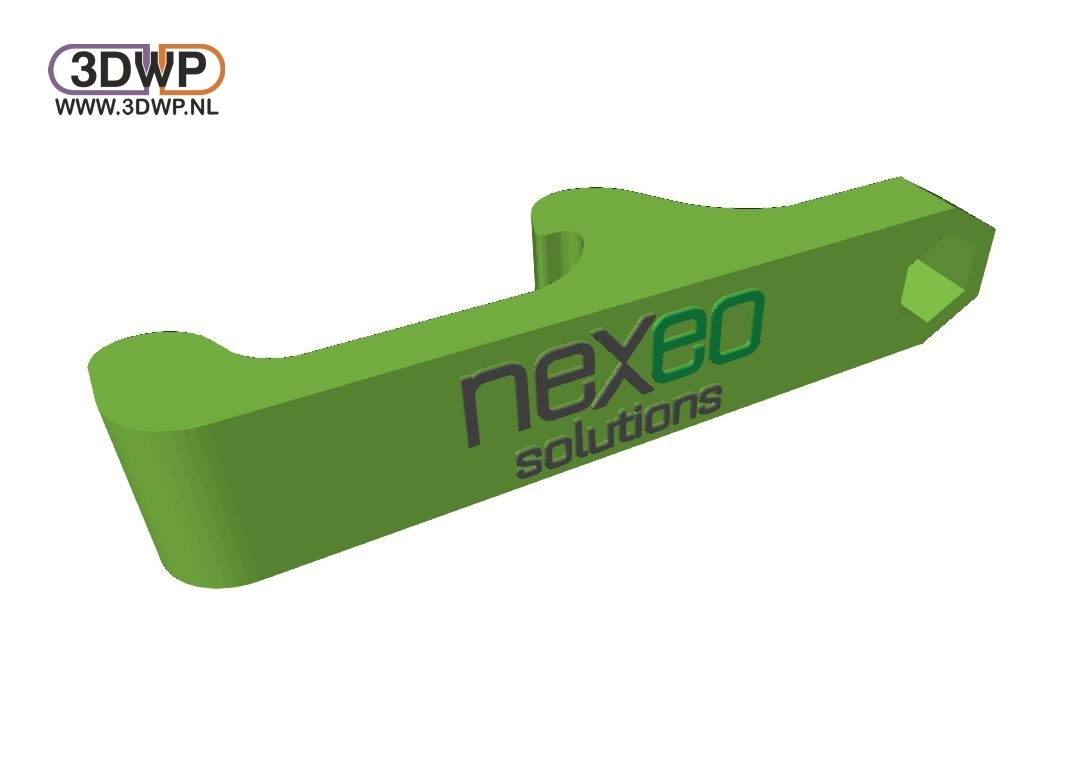 Nexeo3DWP.JPG Download free STL file Nexeo Solutions Bottle Opener • 3D printable object, 3DWP