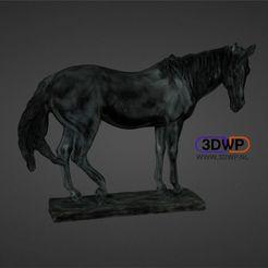 Descargar modelo 3D Estatua de Caballo (Escaneo 3D a color), 3DWP