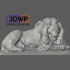 Download free 3D printer files Iron Lion Statue 3D Scan, 3DWP