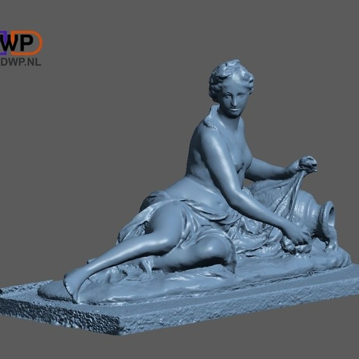 Download free STL file Arethusa Sculpture 3D Scan • 3D print model, 3DWP