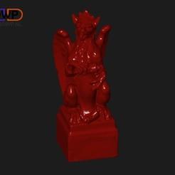 Download free 3D model Griffin Sculpture, 3DWP