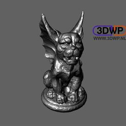 Descargar archivo 3D Escultura de gárgolas (Escaneo 3D de estatuas), 3DWP