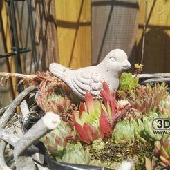 Download 3D printing models Little Bird Sculpture, 3DWP