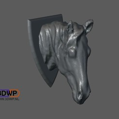 Download free STL file Horse Head, 3DWP