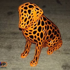 Labrador1.jpg Download free STL file Dual Color Labrador • 3D printing template, 3DWP