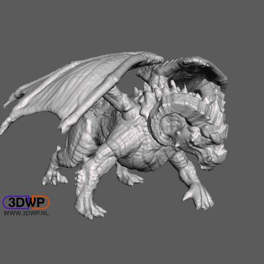 DragonRam.JPG Download STL file Dragon Ram 3D Scan • 3D print object, 3DWP