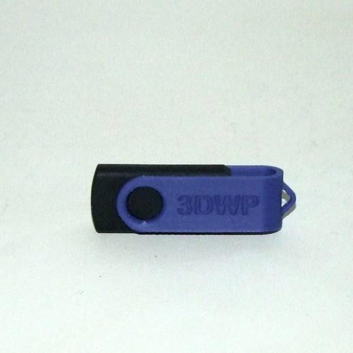 Télécharger fichier STL gratuit Couvercle de la clé USB (pivotant) • Plan pour imprimante 3D, 3DWP