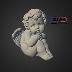 Download free STL Angel Statue (Sculpture 3D Scan), 3DWP