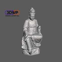 Guanyin.JPG Download free STL file Kuan-yin, Goddess of Mercy 3D Scan • 3D print template, 3DWP