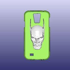 Télécharger objet 3D gratuit Etui Samsung Galaxy S4 Batman, 3DWP