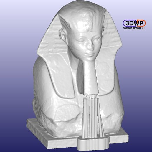 Sphinx2.JPG Download free STL file Sphinx Of Hatshepsut 3D Scan • 3D printer object, 3DWP
