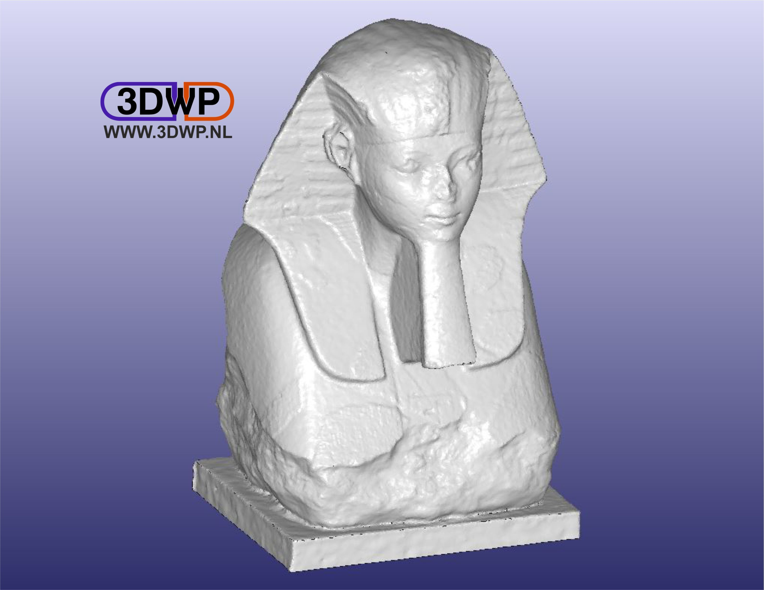 Sphinx1.JPG Download free STL file Sphinx Of Hatshepsut 3D Scan • 3D printer object, 3DWP