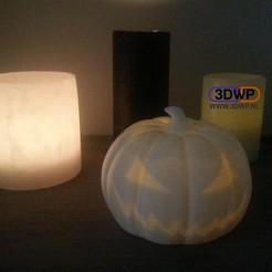 HalloweenPumpkin1.jpg Download STL file Halloween Pumpkin • Object to 3D print, 3DWP