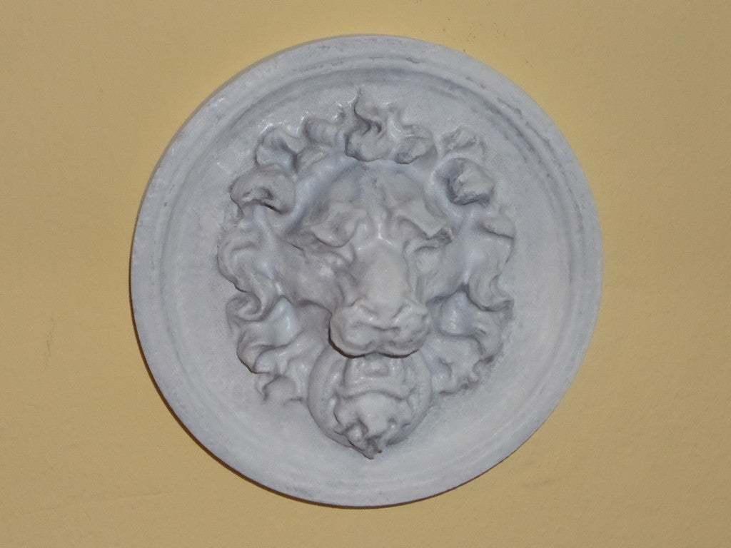 LionHead.jpg Télécharger fichier STL gratuit Cintre mural tête de lion • Plan à imprimer en 3D, 3DWP