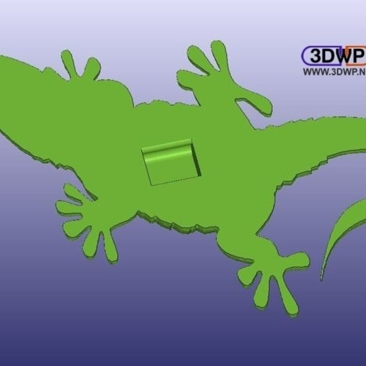Gecko3.jpg Download free STL file Gecko • Design to 3D print, 3DWP