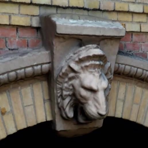 LionScan3.jpg Télécharger fichier STL gratuit Scan 3D de la sculpture du lion (suspension murale) • Modèle imprimable en 3D, 3DWP