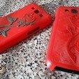 Télécharger fichier impression 3D gratuit Samsung Galaxy S3 Rose Case, 3DWP