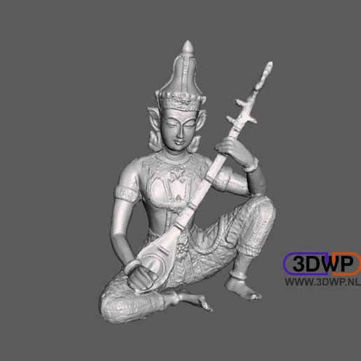 Indian2.JPG Télécharger fichier STL gratuit Sculpture de Dieu indien Scan 3D • Plan imprimable en 3D, 3DWP